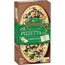 Buitoni Buitoni Pizza forestière les 2 pizzas de 185g - 370g