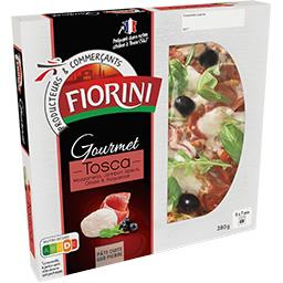 Gourmet Fiorini Gourmet - Pizza Tosca mozzarella jambon Speck olives la pizza de 380 g