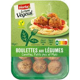 Herta Herta Le Bon Végétal - Boulettes aux légumes la barquette de 200 g