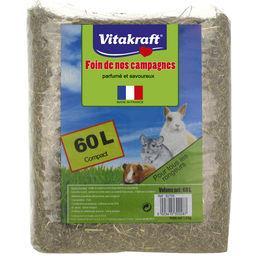 Vitakraft Vitakraft Foin de nos campagnes pour tous les rongeurs le paquet de 60 l