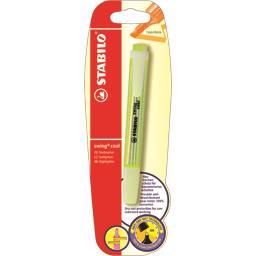 Stabilo Stabilo Surligneur Swing Cool jaune 1 mm-4 mm le surligneur