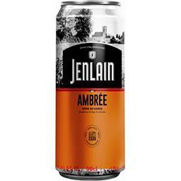 Jenlain Jenlain Bière ambrée La canette de 50cl