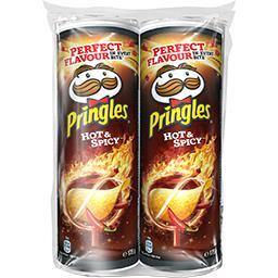 Pringles Pringles Snack Hot & Spicy les 2 boites de 175 g