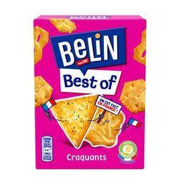Belin Belin Assortiment de biscuits Crackers Best Of la boite de 90 g