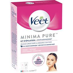 Veet Veet Kit d'épilation visage Minima Pure le kit