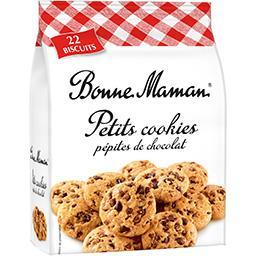 Bonne Maman Bonne Maman Petits cookies pépites de chocolat le paquet de 250 g