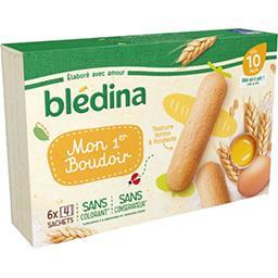 Blédina Blédina Mon 1er Boudoir, dès 10 mois la boite de 24 - 120 g