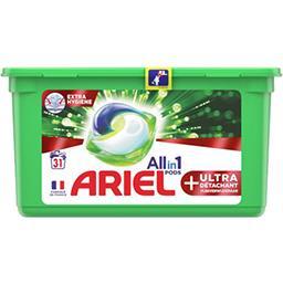 Ariel Ariel Lessive en capsules allin1 pods + ultra La boite de 31 capsules