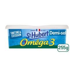 St Hubert St Hubert Matière grasse Oméga 3 demi-sel la barquette de 255 g