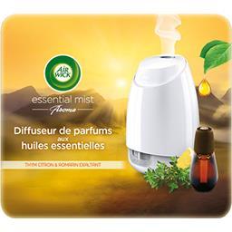 Diffuseur de parfums huiles essentielles thym citron romarin