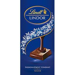 Lindt Lindt Lindor - Chocolat noir la tablette de 150 g