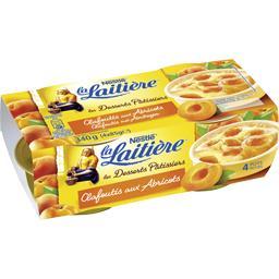 Nestlé La Laitière Clafoutis aux abricots les 4 pots de 85 g