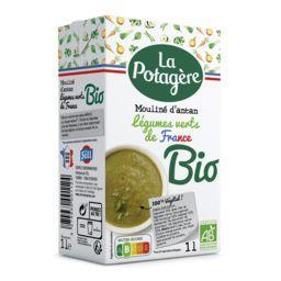 La Potagère La Potagère Mouliné d'antan aux légumes verts BIO la brique de 1 l