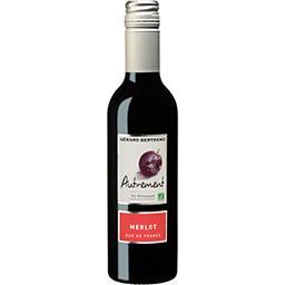 Gérard Bertrand Gérard Bertrand Vin de pays d'Oc Merlot Autrement BIO, vin rouge la bouteille de 37,5 cl