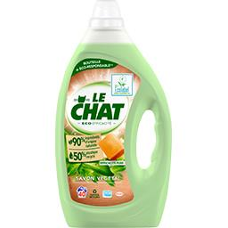 Le Chat Le Chat Lessive liquide savon végétal le bidon de 2 l