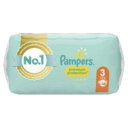 Pampers Pampers Couches Premium Protection taille 3 6kg-10kg Le paquet de 50 couches