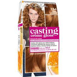 L'Oréal L'Oréal Paris Casting crème gloss - Couleur soin sans amoniaque Miel Ambré 734 la boite