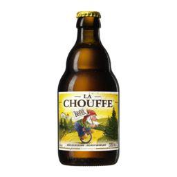 Brasserie d'Achouffe La Chouffe Bière blonde d'Ardenne la bouteille de 33 cl