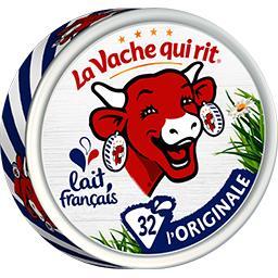 La vache qui rit La Vache qui rit Fromage fondu la boîte de 32 portions - 512g