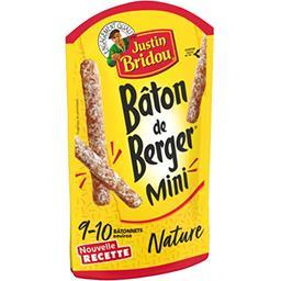 Justin Bridou Justin Bridou Le Bâton de Berger - Mini saucisson sec nature le sachet de 9-10 bâtonnets - 100 g