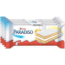 Kinder Kinder Paradiso - Gâteaux mousse au lait les 4 gâteaux de 29 g