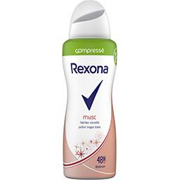 Rexona Rexona Déodorant compressé 24 h musc la bombe de 100 ml