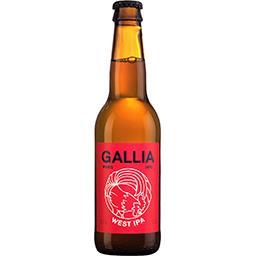 Gallia Gallia India pale ale bière blonde 6% la bouteille de 33cl
