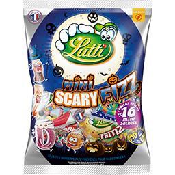 Lutti Bonbon Mini Scary Fizz Halloween le paquet de 400g
