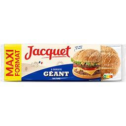 Jacquet Jacquet Pain Burger géant nature le paquet de 6 - 495 g