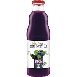 Biofrutti Biofrutti Pur jus de mûre-myrtille BIO la bouteille de 700 ml