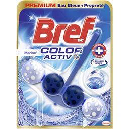 Bref Bref WC - Bloc WC Color Activ+ marine le bloc de 50 g