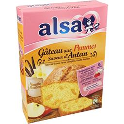 Alsa Alsa Saveur d'Antan - Gâteau aux pommes à la vanille la boite de 300 g
