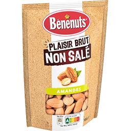 Bénénuts Bénénuts Amandes Plaisir Brut non salé le sachet de 145 g