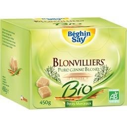 Béghin Say Béghin Say Blonvilliers - Petits morceaux de sucre pure canne blond BIO la boite de 450 g