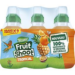 Teisseire Teisseire Fruit Shoot - Boisson Tropical les 9 bouteilles de 20 cl