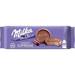 Milka Milka Gaufrettes Choco Supreme le paquet de 6 - 180 g