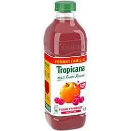 Tropicana Tropicana Pur jus pomme framboise sans sucres ajoutés la bouteille de 1.5l