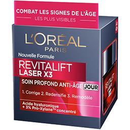 L'Oréal L'Oréal Paris Revitalift Laser X3 - Soin profond anti-âge jour le pot de 50 ml