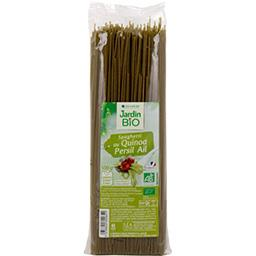 Jardin Bio Jardin bio étic - Spaghetti au quinoa ail persil BIO le paquet de 500 g