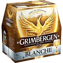 Grimbergen Grimbergen Blanche - Bière d'Abbaye le pack de 6x25cl