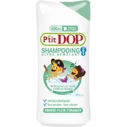 Dop P'tit Dop Shampooing 2 en 1 ultra démêlant amande fleur d'oranger le flacon de 400 ml