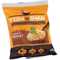 Tien Shan Tien Shan Nouilles asiatiques saveur poulet doux le sachet de 85 g