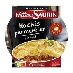 William Saurin William Saurin Hachis parmentier pur bœuf l'assiette de 300 g