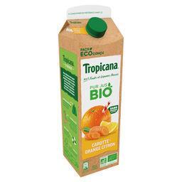 Tropicana Tropicana Pur jus carotte orange citron Bio la brique de 85cl