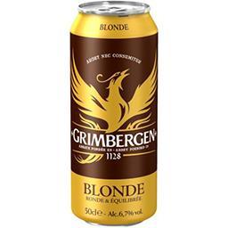 Grimbergen Grimbergen Bière blonde d'Abbaye la bouteille de 50cl