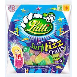 Lutti Lutti Confiserie Surfizz goûts fruits, extra acide le sachet de 200 g