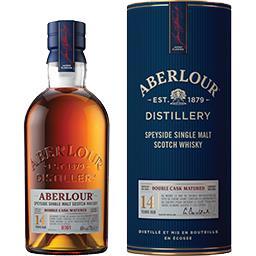 Aberlour Aberlour Speyside Single Malt Scotch Whisky 14 ans la bouteille de 70 cl + l'étui