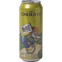 Brasserie d'Achouffe La Chouffe Bière blonde la canette de 50cl