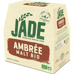 Jade Jade Bière ambrée malt BIO les 6 bouteilles de 25 cl