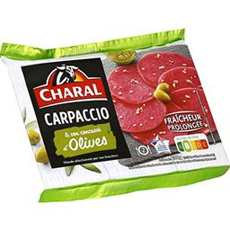 Charal Charal Carpaccio olives finement concassées & sa marinade la barquette de 230 g